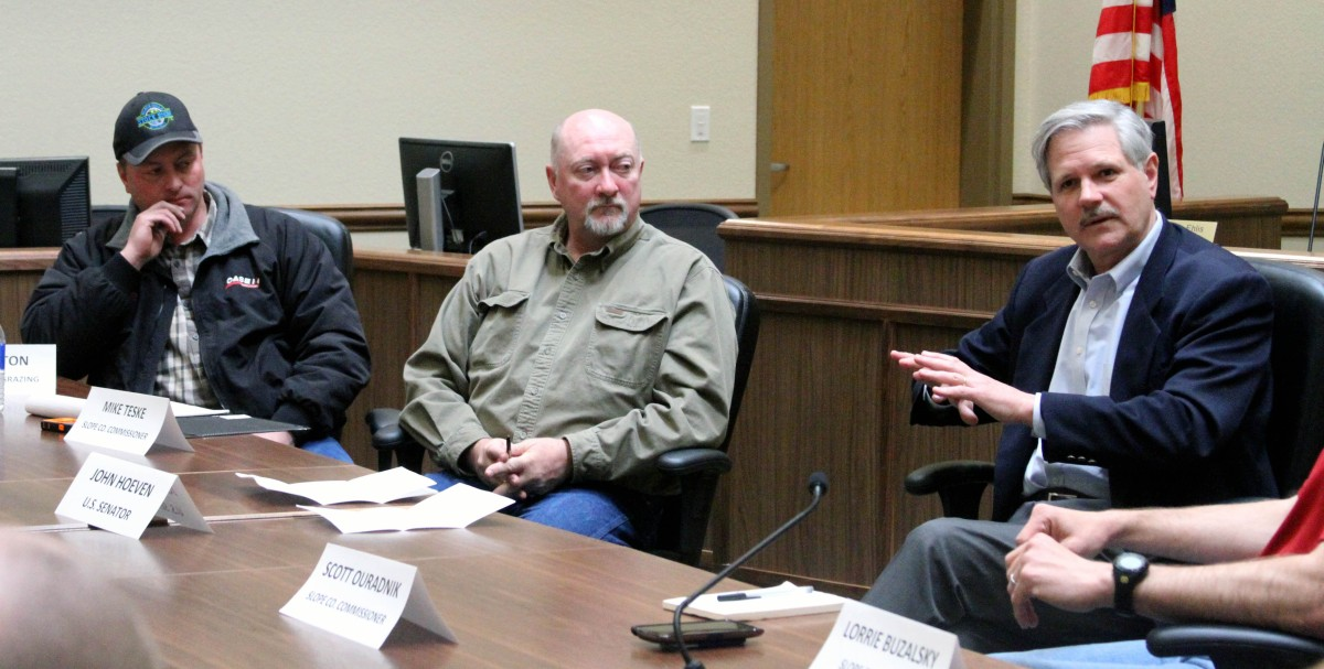Slope, Bowman county leaders express frustration with federal overreach
