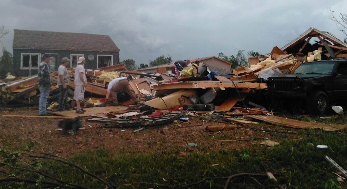 People injured, and homes destroyed and damaged after tornado hits Baker, Mont.