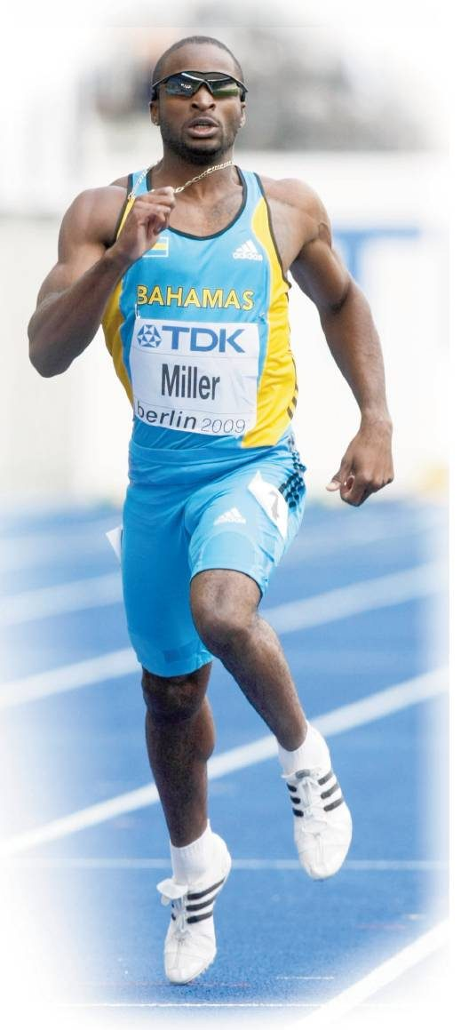 Having no coach hasn't been a problem for Ramon Miller — he's a 2-event Olympian