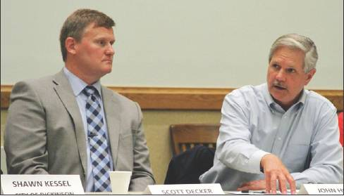Dickinson City Leaders, Sen. Hoeven Talk Drug Crime