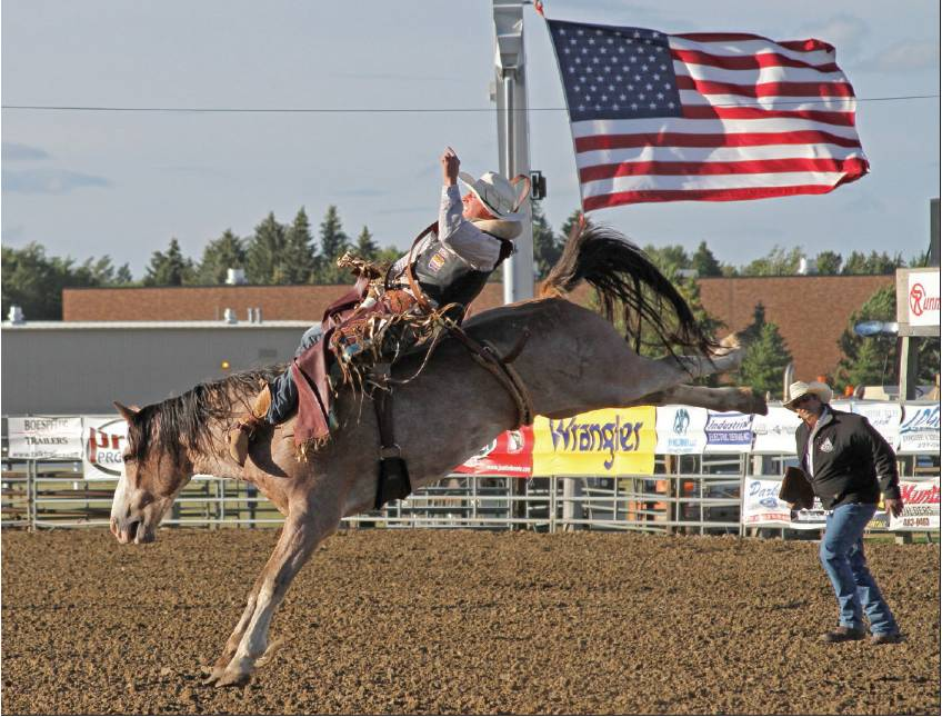 Griemsman Sets Roughrider Days Barrel Racing Record